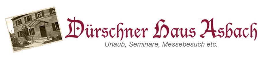 Haus Asbach – Urlaub, Seminare, Messebesuch etc.